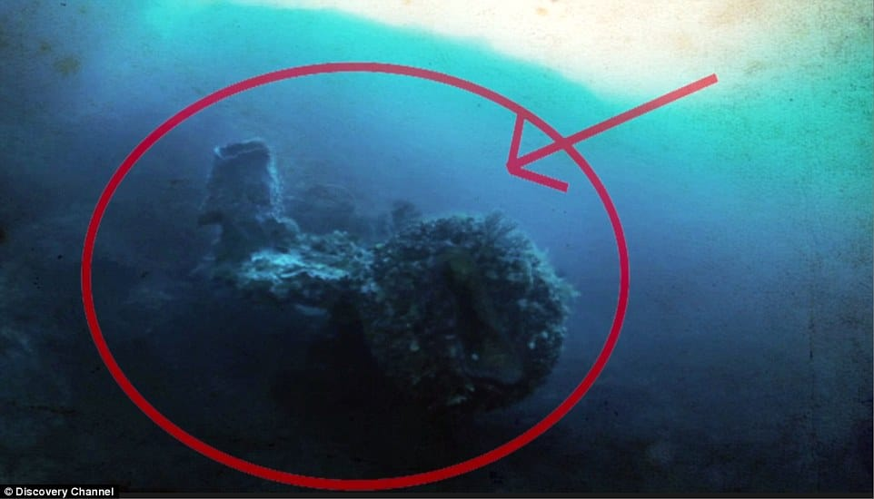 What IS that obtrusion as discovered by Miklos on Cooper's Treasure?