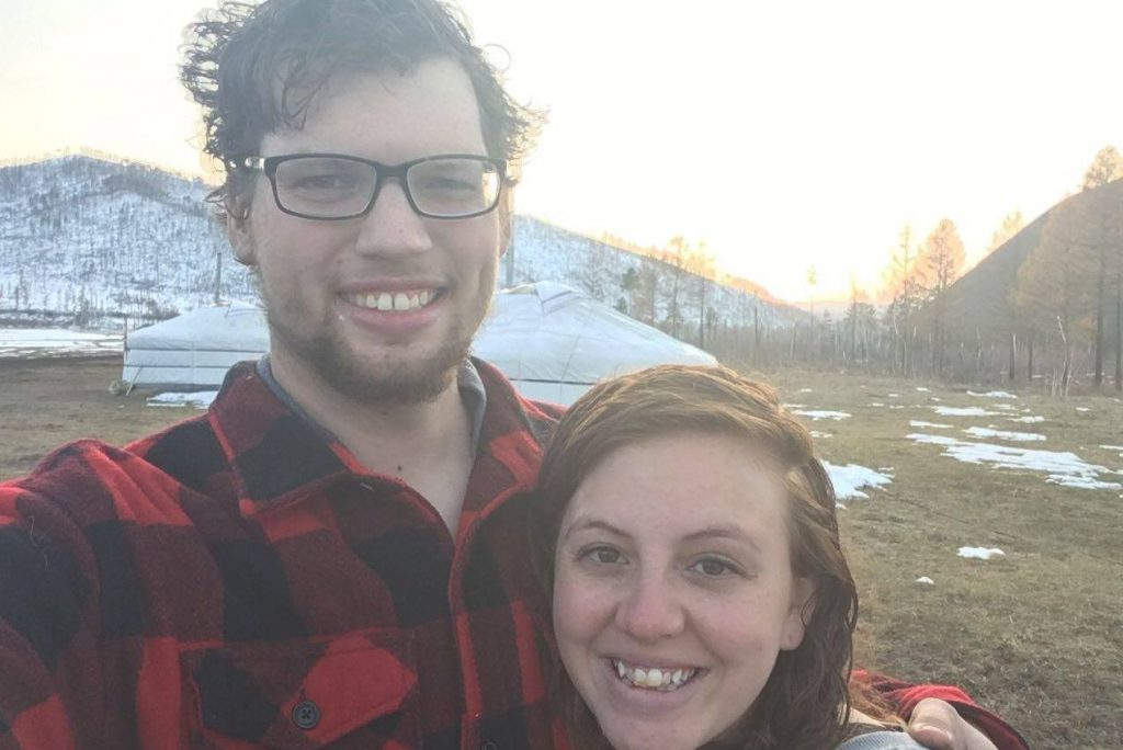 """Sam Larson and his wife reunited and very happy he is done being """"Alone"""""""