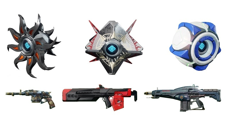 Solstice Engram rewards from Destiny 2