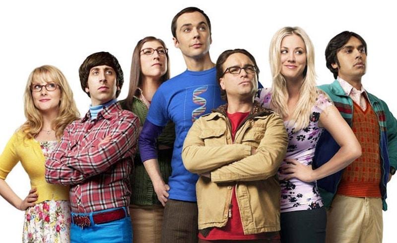 The Big Bang Theory cast photo