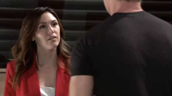 Margaux and Jason on General Hospital
