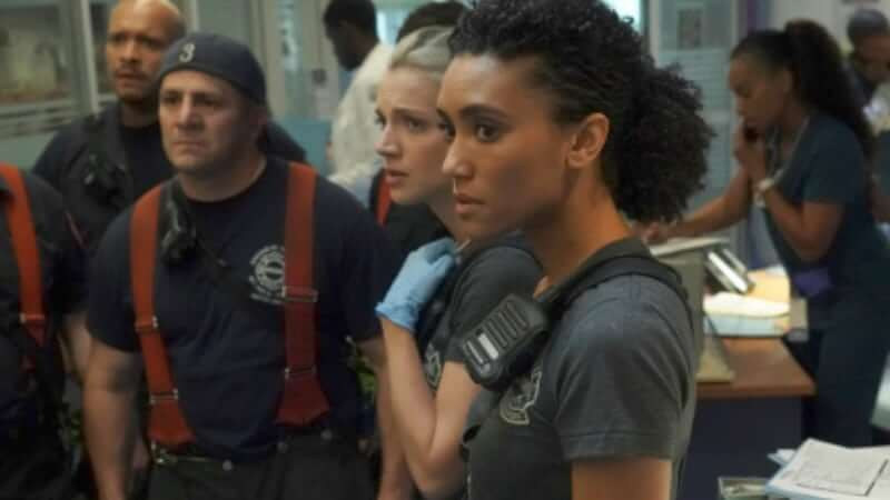Annie Ilonzeh on Chicago Fire