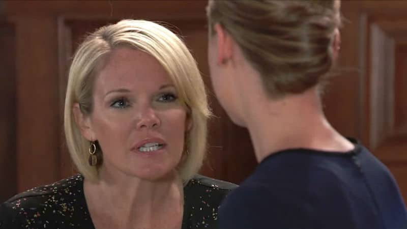 Ava angry at Kiki at the courthouse following the Griffin bombshell