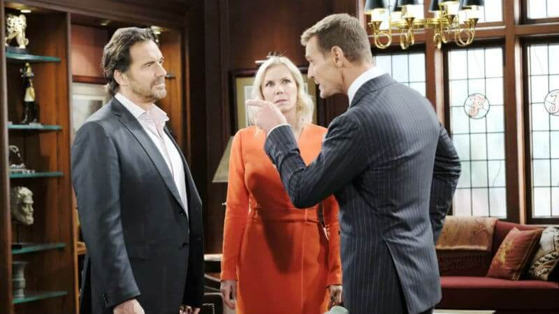 Ridge, Brooke, and Thorne on The Bold and the Beautiful