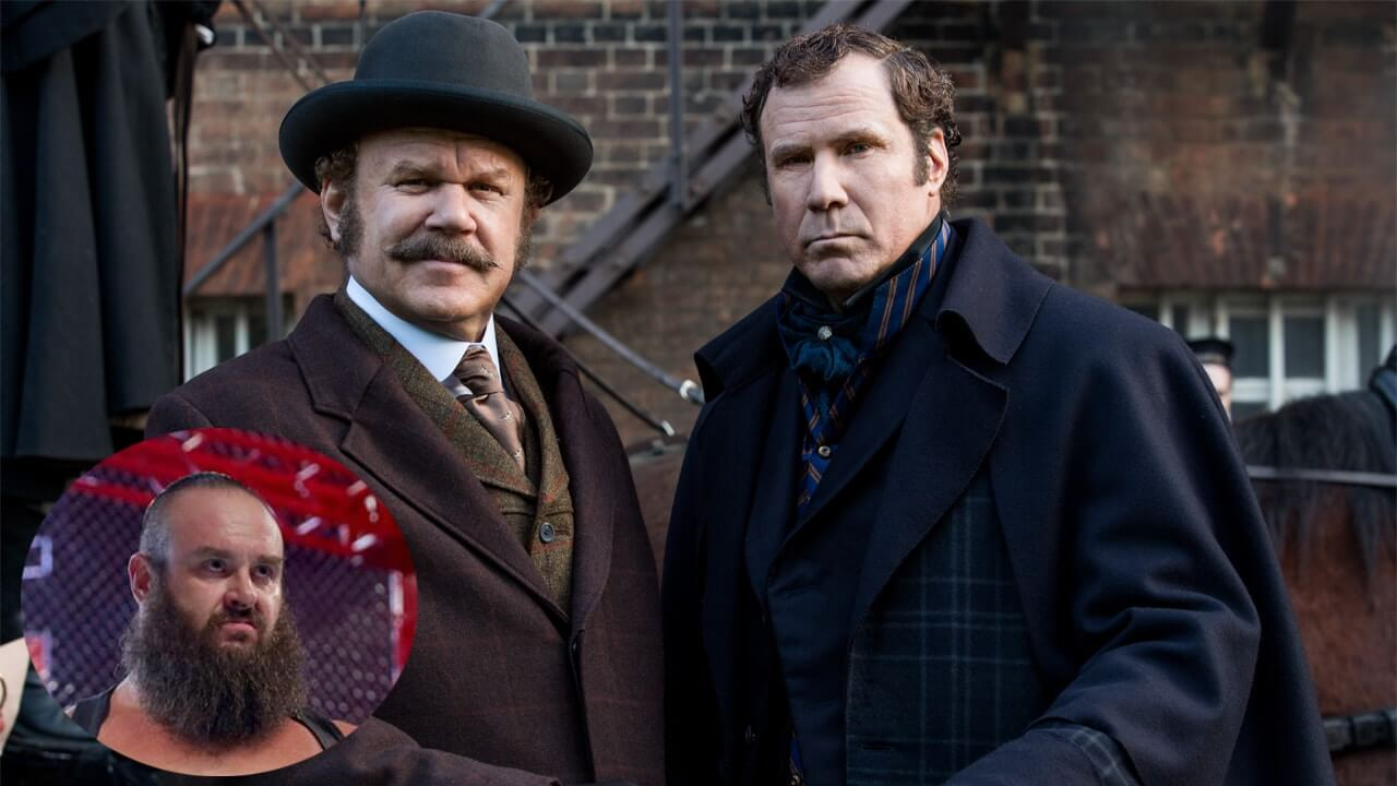 Braun Strowman: Sherlock Holmes movie sees Monster Among Men smashed with a chair by Dr. Watson