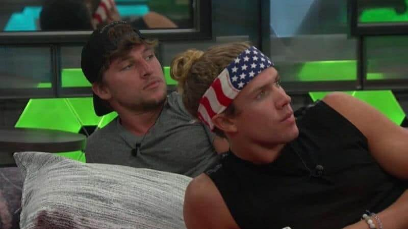 Brett and Tyler on Big Brother 20