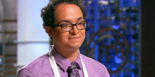 Cesar Cano on September 5 episode of MasterChef