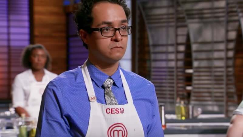 Cesar Cano competes for the top spot on MasterChef