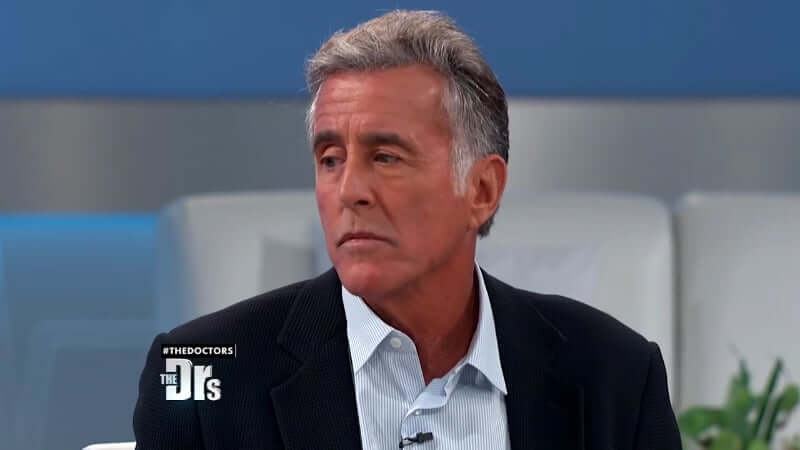 Christopher Lawford during an appearance on The Doctors in 2017