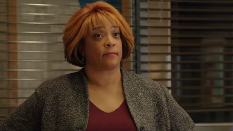 DuShon Monique Brown as Connie on Chicago Fire