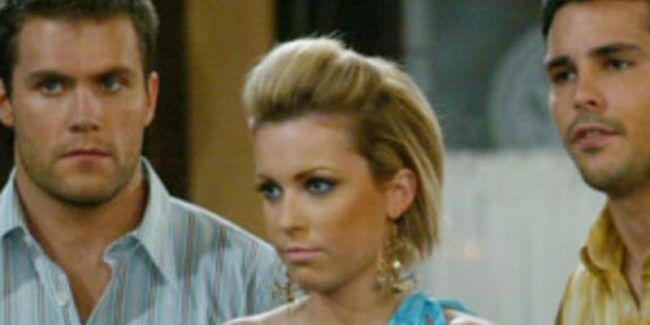 Farah Fath with her Days of our Lives costars