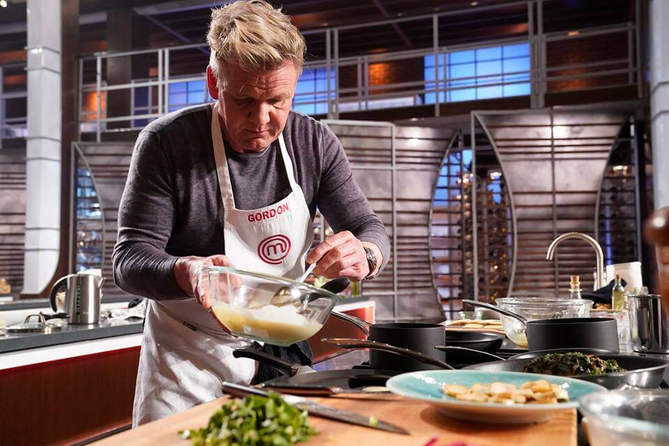 Gordon Ramsey on Masterchef
