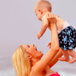 Heidi Montag with son Gunner