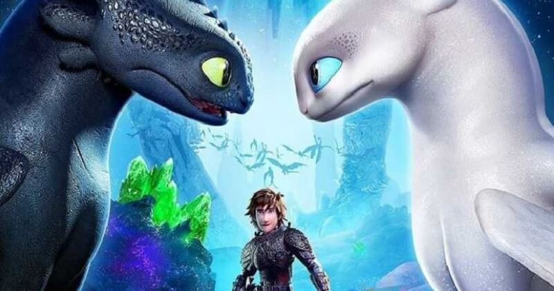 How to Train Your Dragon: The Hidden World, Toothless and Light Fury