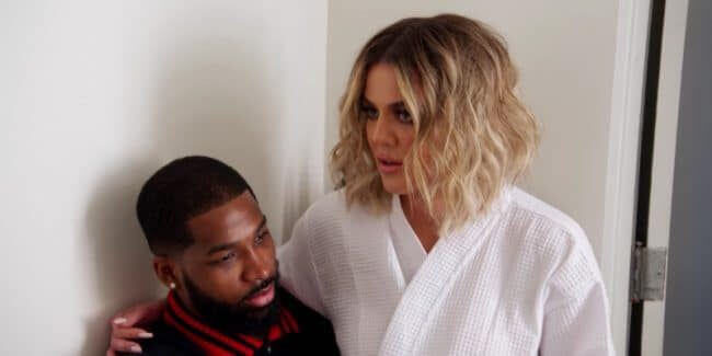 Tristan Thompson and Khloe Kardashian on Keeping Up With The Kardashians