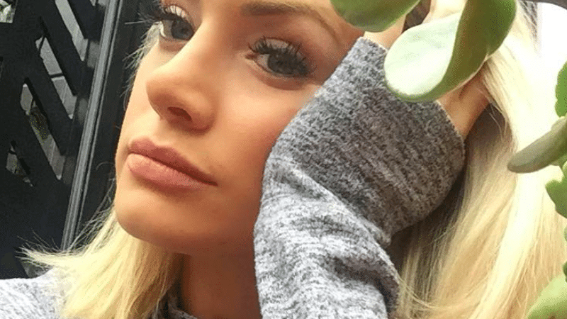 Jenna Cooper from Bachelor in Paradise in an Instagram snap
