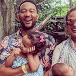 John Legend and family
