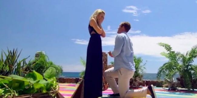 Jordan Kimball proposing to Jenna Cooper on Bachelor In Paradise