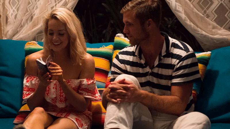 Jordan and Jenna on Bachelor In Paradise