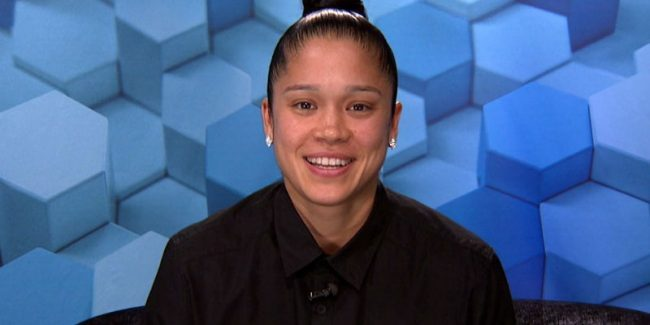 Kaycee Clark in the Big Brother diary room