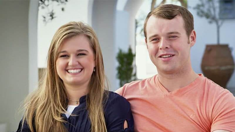 Kendra and Joseph Duggar in a Counting On confessional