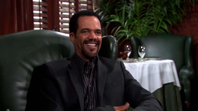 Kristoff St. John during a special for Young and the Restless