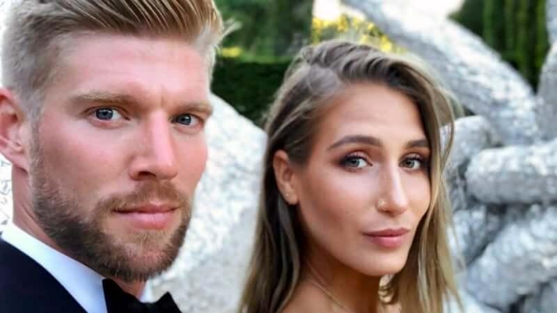 Kyle Cooke and Amanda Batula