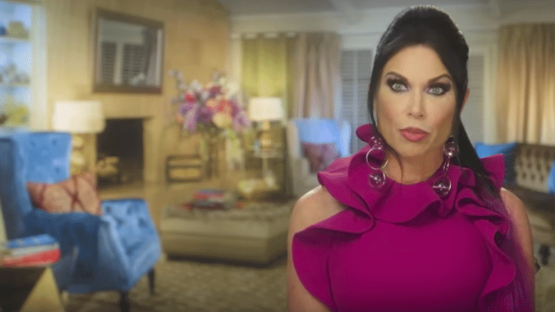 LeeAnne Locken in the confessional on Real Housewives of Dallas