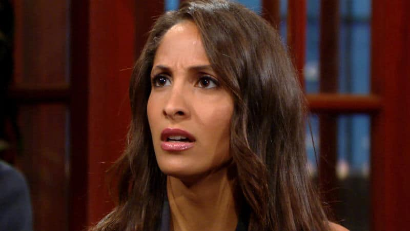 Christel Khalil as Lily on The Young and the Restless