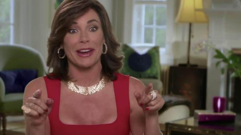 Luann de Lesseps supports Bethenny's BStrong Hurricane Florence efforts