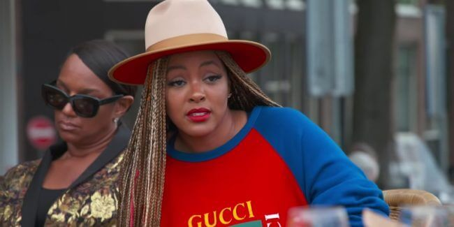 Malaysia Pargo takes aim at Jennifer Williams on the Basketball Wives finale in Amsterdam