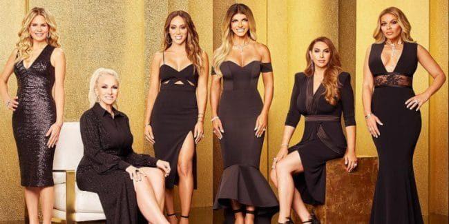 In order, the RHONJ season 9 cast is Jennifer Goldschneider, Margaret Josephs, Melissa Gorga, Jennifer Aydin and Dolores Catania