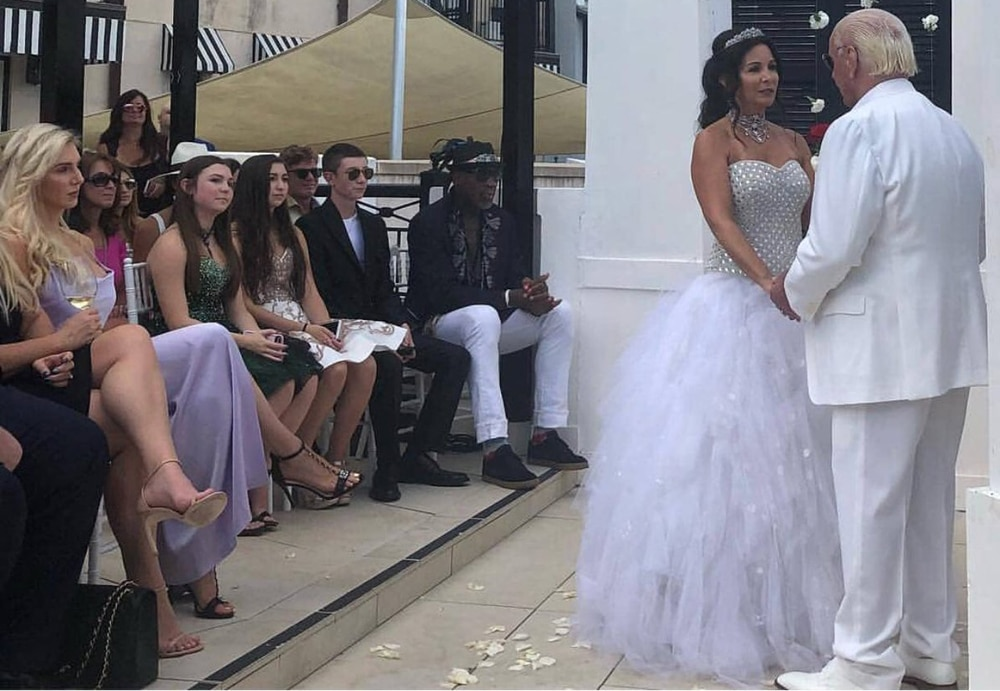 Ric Flair gets married: Check out photos from Ric Flair's commitment ceremony to Wendy Barlow