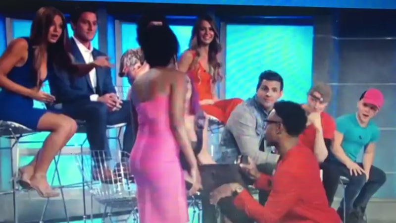 Swaggy C proposing to Bayleigh on Big Brother 20