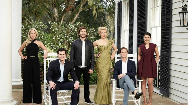 The cast of Southern Charm Charleston. Pic credit: Bravo