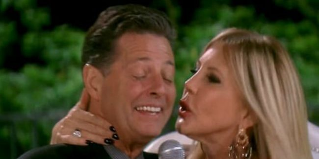 Steve Lodge and Vicki Gunvalson on The Real Housewives of Orange County
