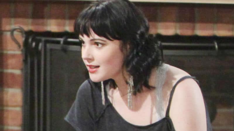 Cait Fairbanks as Tessa on The Young and the Restless