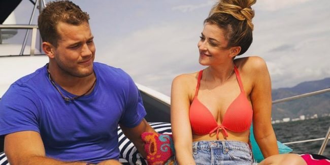 Tia and Colton on Bachelor In Paradise