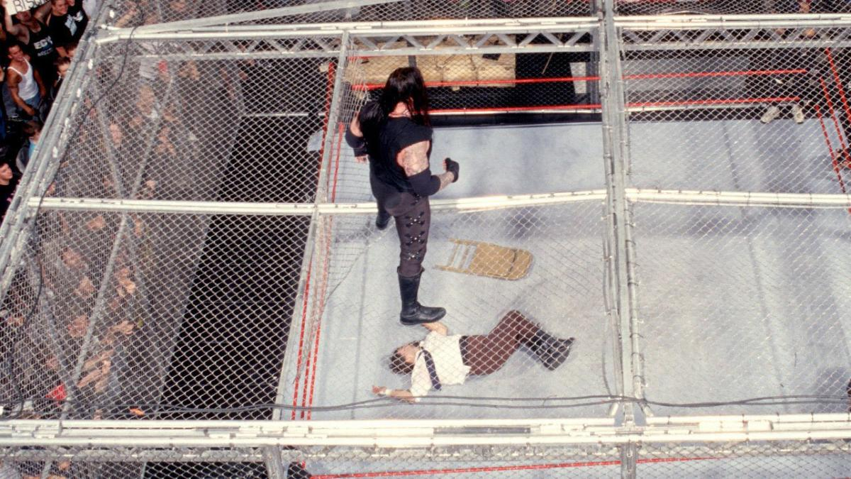 WWE superstar The Undertaker breaks character for special interview about Mick Foley and Hell in a Cell 1998