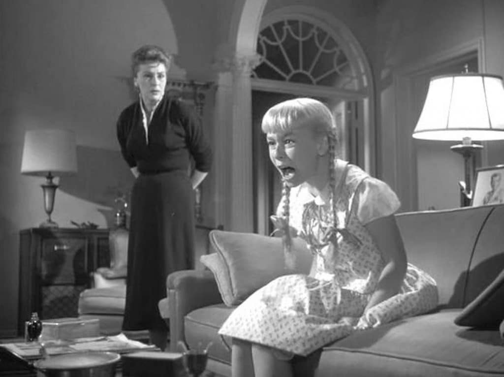 Patty McCormack played Rhoda, the original Bad Seed Pic credit- Still from the trailer of 1956 The Bad Seed