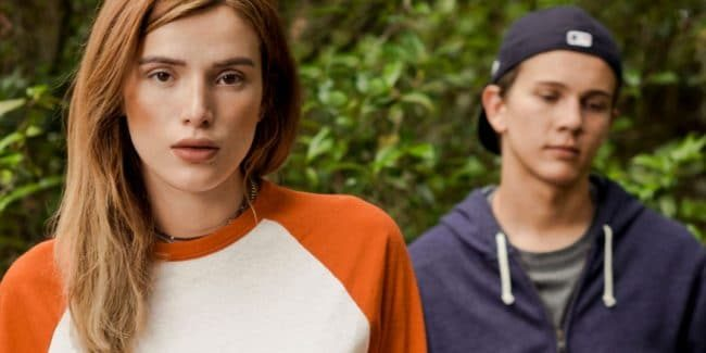 Bella Thorne stars in Conrad & Michelle: If Words Could Kill, our Sunday TV movie pick