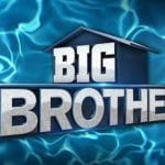 Big Brother logo with pool-like waves over the top