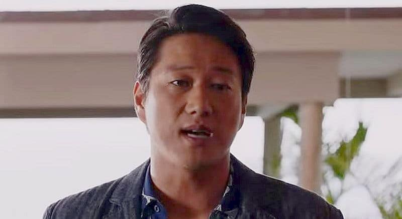 Tim Kang in a still from the new trailer for tonight's debut Magnum P.I. Pic credit: CBS
