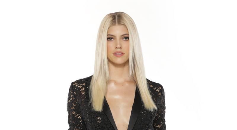 Devon Windsor in her Model Squad promotional photo