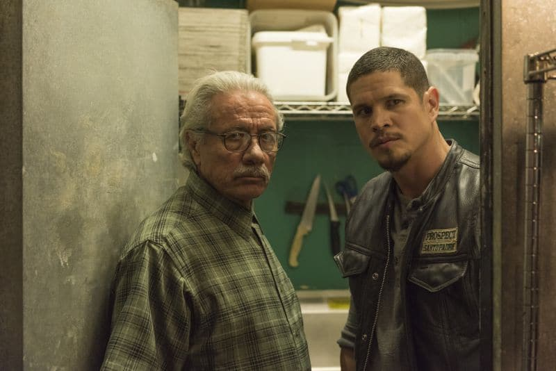 Edward James Olmos, JD Pardo