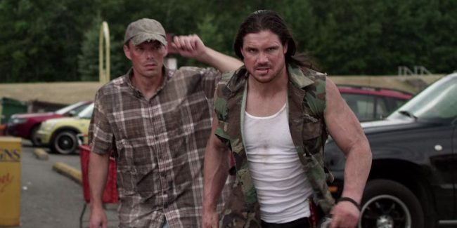 John Hennigan wrestles mutant frogs in chilling movie Strange Nature