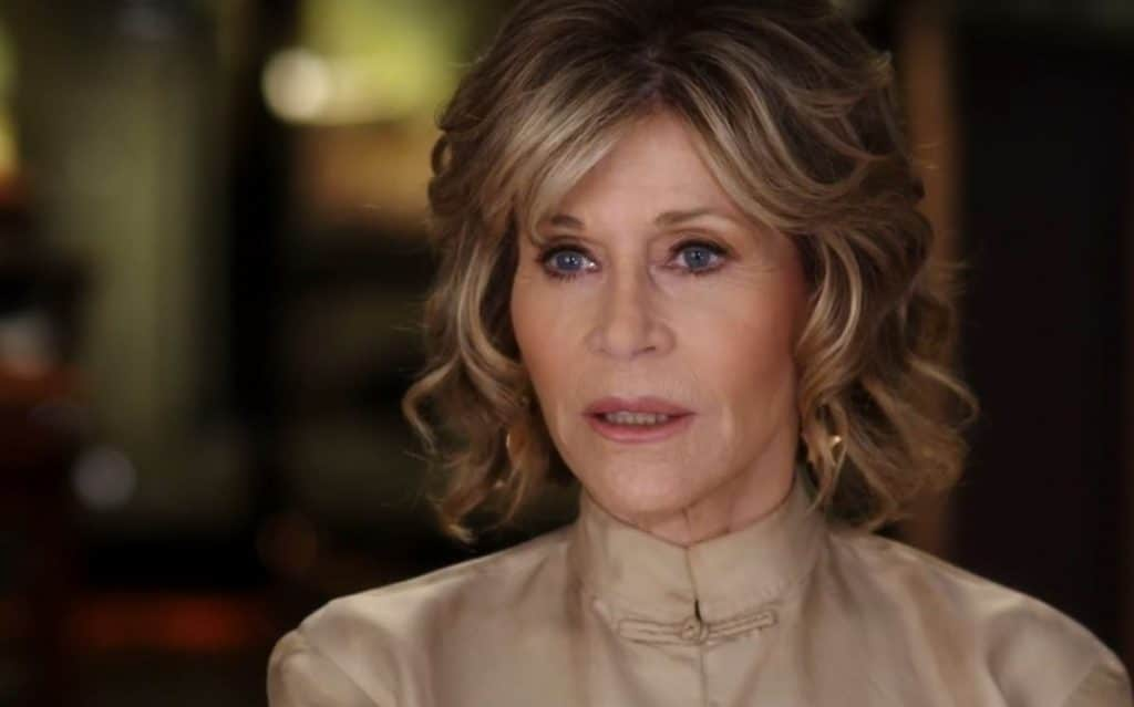 At age 80, Jane Fonda has lived and continues to live an extraordinary life. Pic credit: HBO