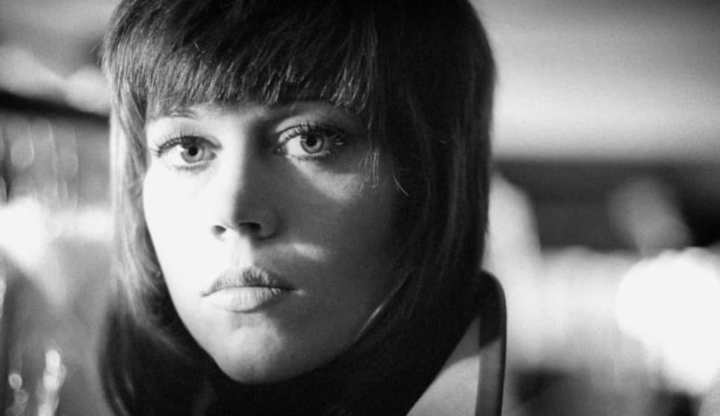 "Jane's ""Klute"" haircut telegraphed her ""woke"" political aspirations at the time Pic credit: HBO"