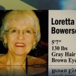 Loretta Bowersock in a family photo, she was murdered