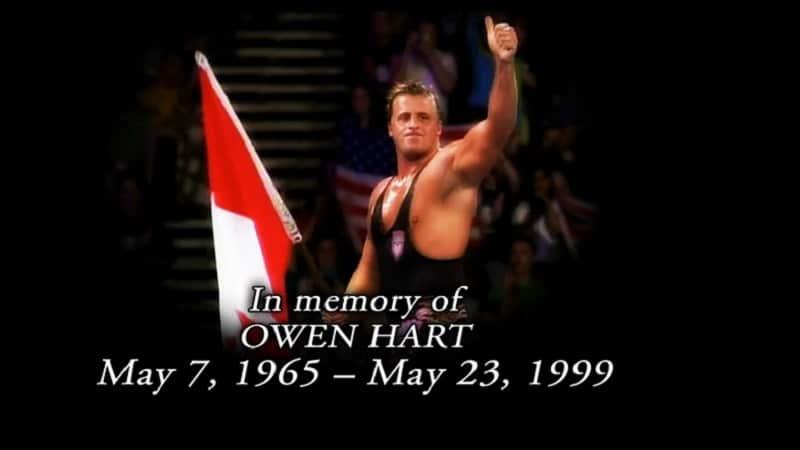 Owen Hart tribute.